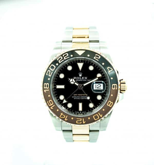 Men's Two toned ROOTBEER GMT Rolex